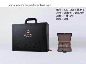 専門の工場価格のカスタム革赤ワインボックス