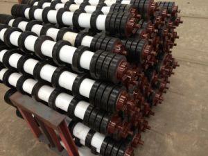 Luva de borracha de retorno do cilindro do transportador da engrenagem intermediária/pente usado como limpeza de superfícies