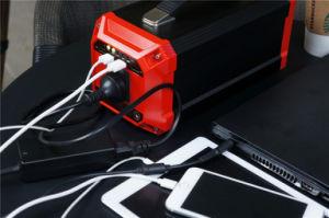 bewegliche Energiequelle-Stromversorgung des Generator-270wh/73000mAh mit 200W Wechselstrom-Invertern, 12V Gleichstrom, USB-Kanäle, aufgeladen durch Gleichstrom-Input/Solar