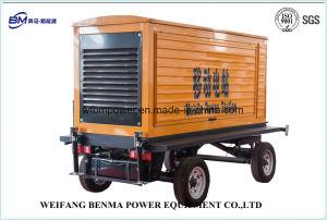 La estación de energía de remolque portátil con SGS/ISO la identificación del sistema