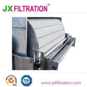 Décharge de la courroie du filtre à vide à tambour rotatif pour le traitement de l'eau