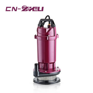 강력한 Qdx1.5-17-0.37 최상 구리 철사 국내 잠수할 수 있는 펌프