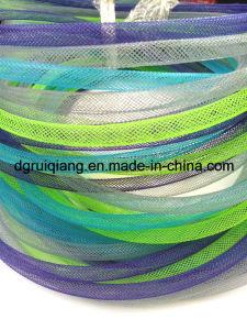 Decoración colorida de cinta de tubo de malla