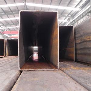 Tubo d'acciaio quadrato galvanizzato caldo di ERW