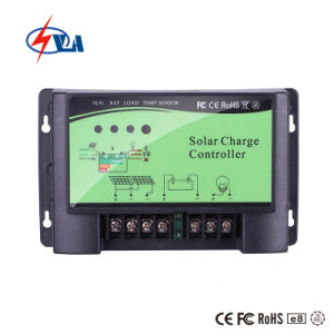 12V/24V 20Un PWM Controlador de carga solar