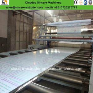 Feuille de la lumière du soleil en relief de la fabrication en polycarbonate/Making Machine