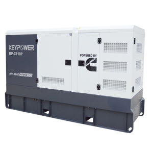 Молчание дизельный генератор с двигателем Cummins