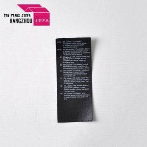 衣服のラベルのためのカスタム印刷の洗浄取扱表示ラベル