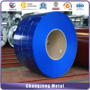 코일 (CZ-C90)에 있는 PPGI 색깔에 의하여 입히는 직류 전기를 통한 강철판