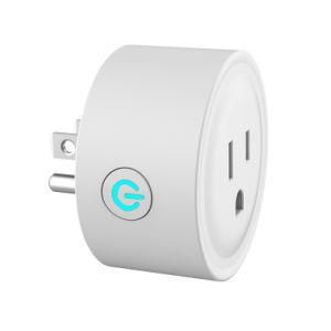 Ee.Uu. de trabajo estándar con Amazon Alexa y Google WiFi inteligente interruptor eléctrico USB Conector de extensión de pared