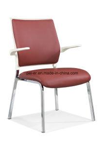 現代家具の革待っている食事の椅子(633B11)