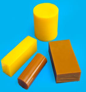 Unità di elaborazione Rod, poliuretano Rod, barra dell'unità di elaborazione, scheda di colore rosso del poliuretano