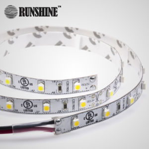 5 LEIDENE 4.8W/M van de Garantie SMD3528 van de jaar de Flexibele Zachte Lichten van de Strook
