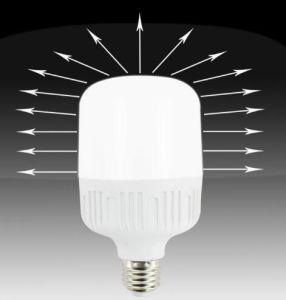 De aluminio de alta potencia con plástico de la luz de lámpara LED 5W