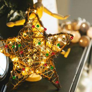 Die 50 LED-warme weiße feenhafte Solarzeichenkette beleuchtet grosse Flasche für das dekorative Garten-Plattform-Patio-Partei-Hochzeits-Weihnachten