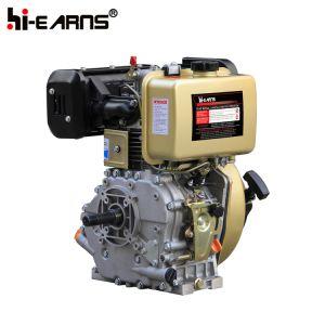 Dieselmotor met de Rode Kleur van de Schacht van de Lat (HR186FA)