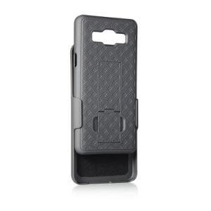 Samsungギャラクシー頑丈な装甲ハイブリッド電話カバーのためのタイヤパターン擁護者の例