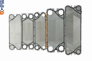 SS304/SS316/Titanium를 가진 격판덮개 열교환기 격판덮개 Vicarb V28