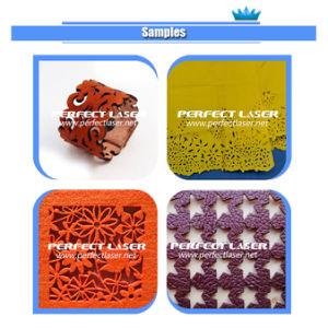 Цена автомата для резки лазера ткани CNC быстрой скорости с автоматической системой завальцовки ткани
