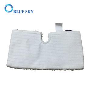 Mopa microfibra lavables Pads Almohadillas de limpieza a vapor Tiburón mopas de bolsillo