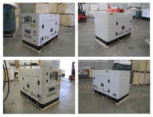 Kipor様式の12kVA Yangdongのディーゼル機関の無声発電機