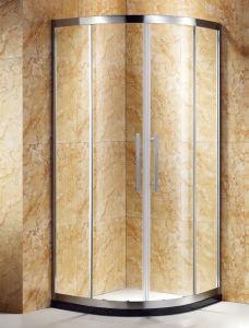 Empuñaduras de puerta deslizante de cuadrante ducha fabricado en acero inoxidable 304