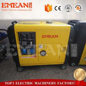 schalldichtes kleines Dieselset des generator-5kVA mit Cer-Bescheinigung