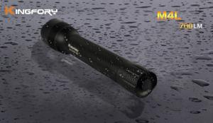 Taktische 700lumen 3modes 2*26650 nachladbare Xml-T6 LED Taschenlampe