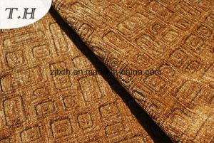 Chenille 2016 impresso fatto nel tessuto della mobilia del tessuto del sofà del Brown