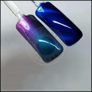 Волшебное зеркало заднего вида цвета хром Chameleon пигмент лак для ногтей гелем польский слюда порошок для лак для ногтей