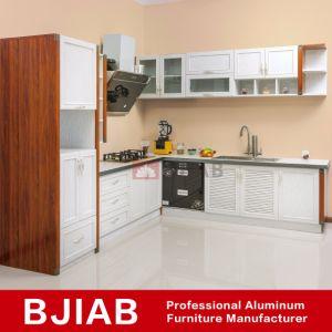 Blanco y el Golden Oak de aluminio Muebles de metal moderno mueble ...