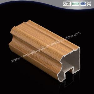 Extruted/aluminio de extrusión de perfiles de aluminio/PVC para la transferencia de la puerta de armario