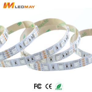 RGB 5050 Flexibele LEIDENE van gelijkstroom 12V Strook