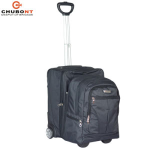 Chubont transporter sur le tissu bagages avec sac à dos ci-jointe