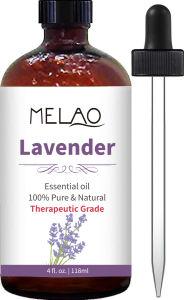 Private Label 4 Oz 100% puro y orgánico Aceite Esencial de Lavanda - Máxima calidad de grado terapéutico apoyada por la investigación
