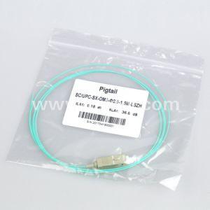 1m de la coleta de fibra óptica SC Simplex