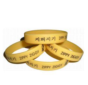 Новые моды Custom Печать логотипа Sport резиновый браслет браслет в стиле (003)