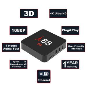 I 88 Android Fernsehapparat-Kasten mit Felsen-Chip Rk3229 2GB RAM/16GB Kasten des ROM-gesetzten Spitzenkasten-IPTV mit Netfilx endlosen Filmen