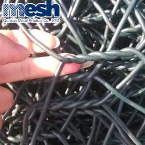 Venda a quente / PVC Caixa de gabião galvanizado
