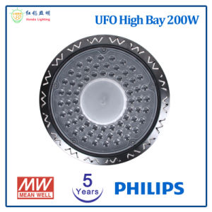 100With150With200W UFO産業照明のための高い湾LEDライト