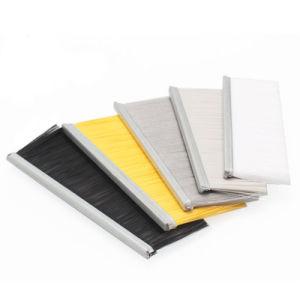 Cerdas de nylon titular de la junta de puerta de aluminio Cepillo Strip