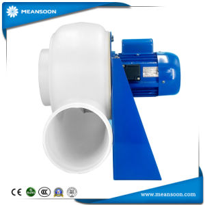 200 PP пластиковые Центробежный вентилятор для отвода паров лабораторной работы вентиляции капота
