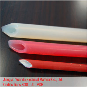 Fsg flexibles überzogenes Silikon-Fiberglas umsponnenes Sleevings/Gefäß 1.2kv, 1.5kv, 2.5kv, 4kv, 5kv, 7kv