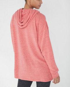Fora da blusa com capuz Zipthru Cayson agasalho