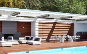 Courtyard piscina com aquecimento por radiação de infravermelhos 2400W