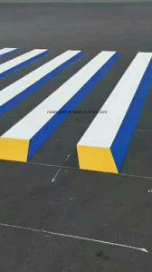 Marcado de la carretera de color de Pintura de recubrimiento en polvo termoplástico