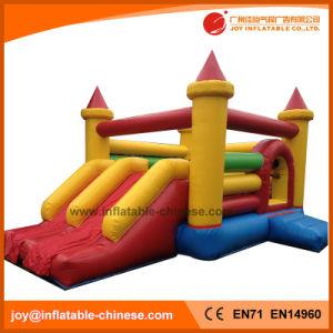 2018 Saltar Bouncer castillo inflable con doble Deslice Combo (T2-315)