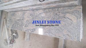 フロアーリング及び壁のタイルまたは平板または虚栄心の上のための多色刷りの穀物の砂のさざ波の中国の花こう岩のコロンボJuparanaの砂波の舗装用タイル