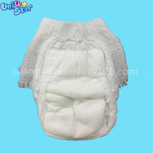 Wegwerfnicht gesponnenes Leck-Verhinderung-Trainings-Baby des Gewebe-3D keucht Windeln