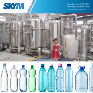 8000hpb de rango completo de llenado de agua potable planta de producción
